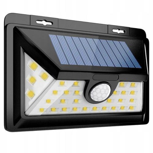 Klinkiet solarny LED 32 LED z czujnikiem ruchu i zmierzchu