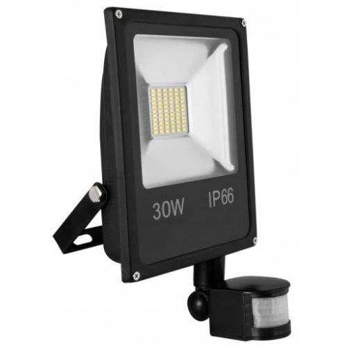 Naświetlacz LED 30W 6500K czujnik ruchu