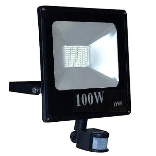 Naświetlacz LED 100W 6500K czujnik ruchu