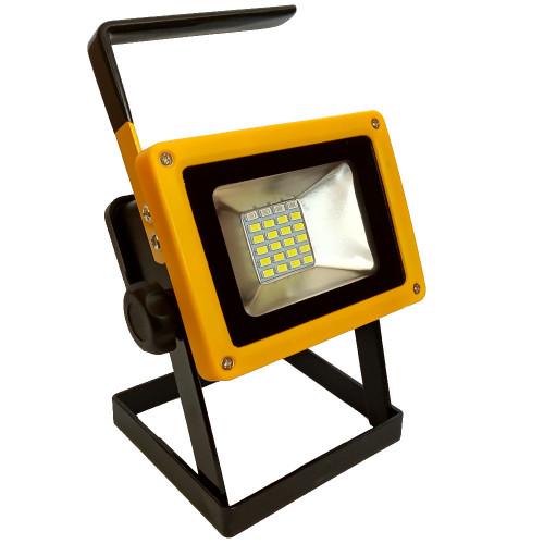 Halogen przenośny 24 LED z akumulatorem 30W