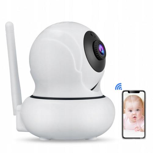 Bezprzewodowa kamera IP WiFi obrotowa 2MPX 4X ZOOM