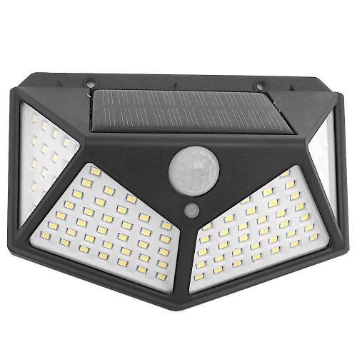 Klinkiet solarny 100 LED z czujnikiem ruchu i zmierzchu