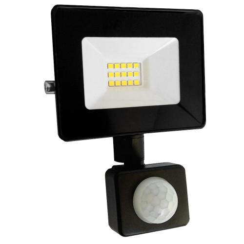 Naświetlacz LED 10W czujnik ruchu 3000K Ciepły