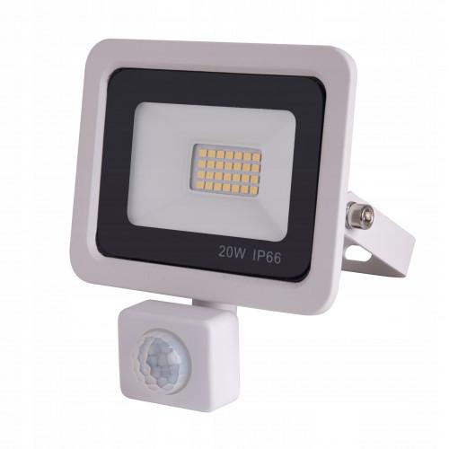 Naświetlacz LED 20W czujnik ruchu 4500K