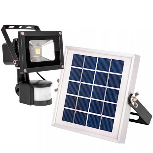 Naświetlacz solarny LED 10W czujnik ruchu