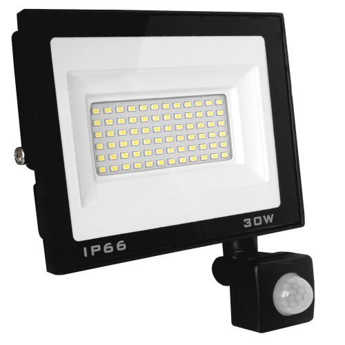 Naświetlacz LED 30W 6000K Czujnik ruchu