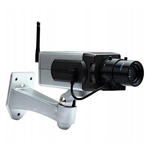 Atrapa kamery przemysłowej z sensorem ruchu