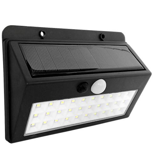 Klinkiet solarny 30 LED z czujnikiem ruchu i zmierzchu