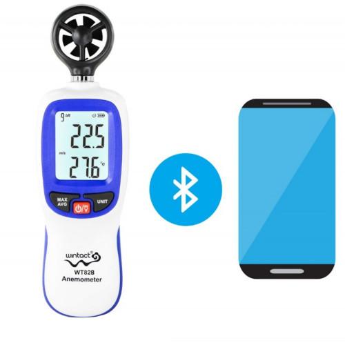 Anemometr wiatromierz WT82B Bluetooth