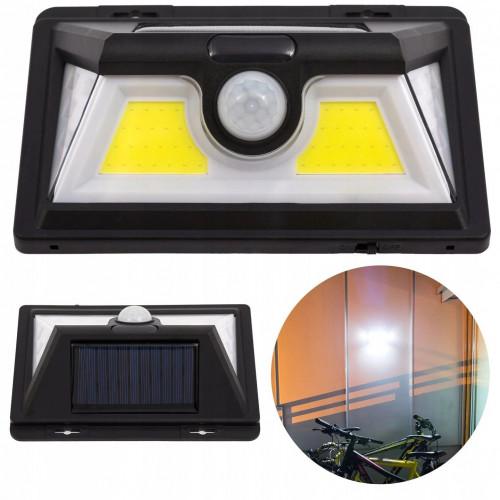 Lampa solarna 54 LED czujnik ruchu i zmierzchu