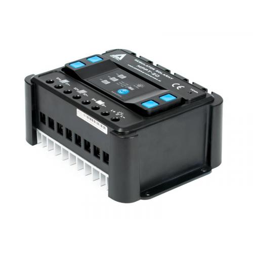 Solarny regulator ładowania 20A  MPPT 12/24V AZO Digital